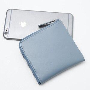 Image 3 - LANSPACEของแท้กระเป๋าสตางค์หนังกระเป๋าใส่เหรียญยี่ห้อที่มีชื่อเสียงแฟชั่นผู้หญิงกระเป๋าสตางค์