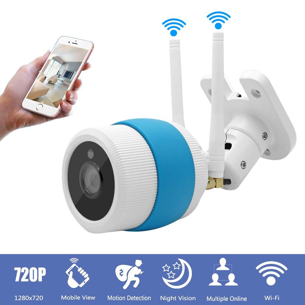Outdoor Waterproof Wifi IP Camera 720P font b Wireless b font Bullet CCTV Security Camera Infrared