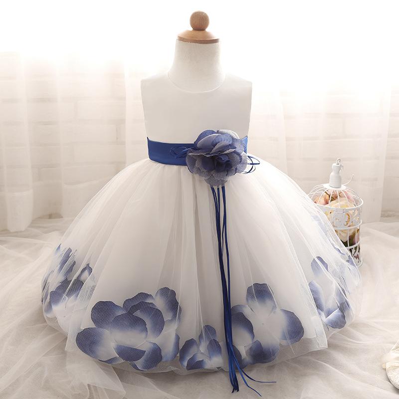 5c93542463c0 Lovely Ball Gown Short Flower Girl Dresses 2019 Baby Dress Communion ...