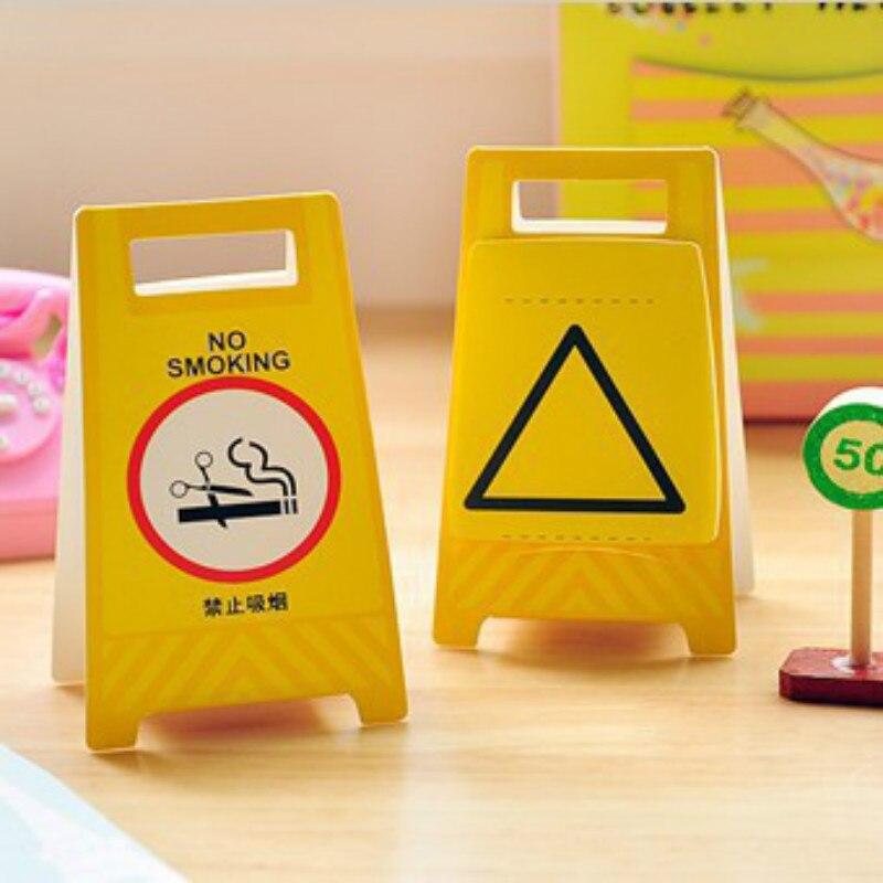 1 шт. Творческий Предупреждение знак самоклеющейся Блокнот Предупреждение доска Стиль Заметок Post-It закладки школьные канцелярские принадл...