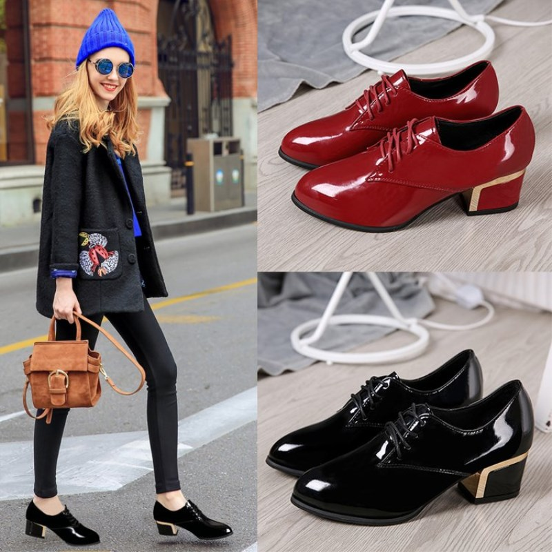 Luxury Designer Shoes Women Pumps 2019 Summer Red Heels Ladies Work Leather Shoes High Quality Woman Shoe Zapatos Mujer 38 39 40