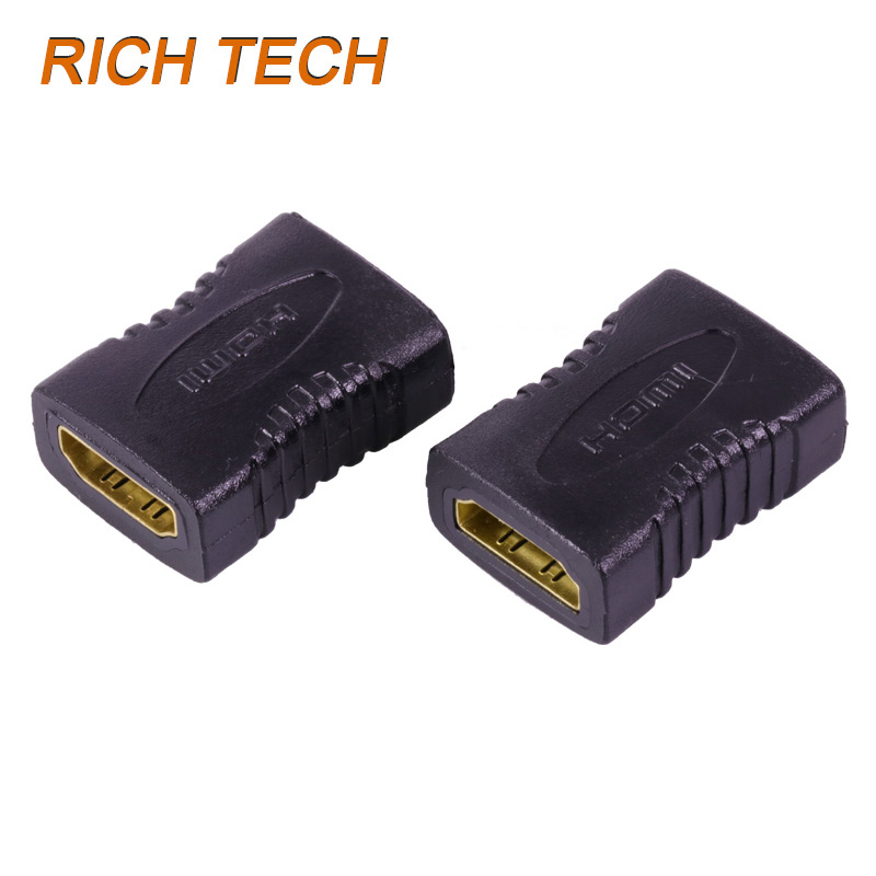 15 pcs high quality HDMI female to female adapter for connecting two HDMI cable HDMI / F TO HDMI / F Adapter