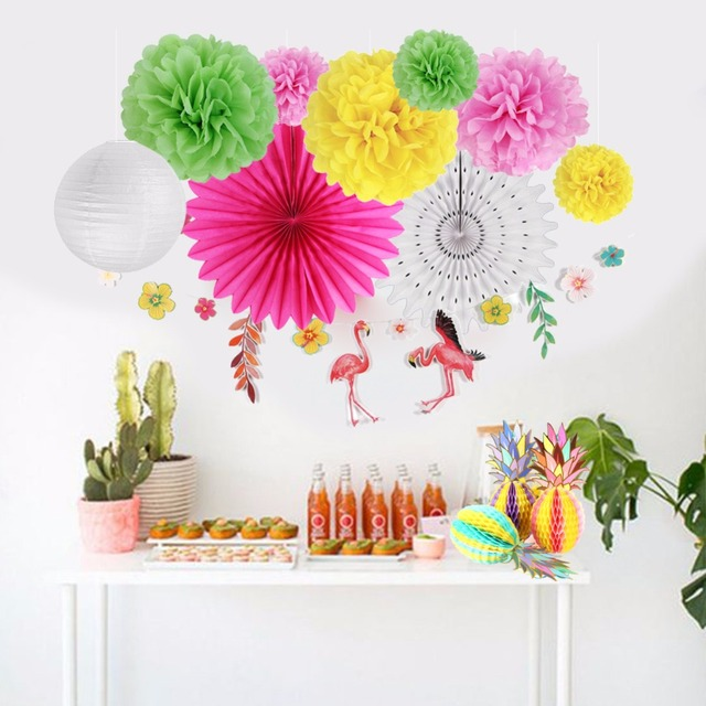 Tropical Party Decorations Hawaiian Theme Party Supplier Pineapple