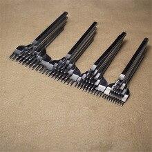 Nuovo Caldo In Pelle Craft Tool Set In Acciaio Inox Foro Scalpello Incisione Stitching Punch Kit di Strumenti di