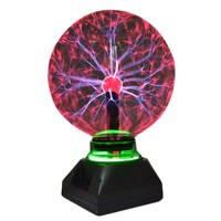 6/8 inch Novelty Magic Plasma Ball Light Kid touch Led Table Lights Crystal Night Lamp Sphere Transparent Lamps Party Decoration