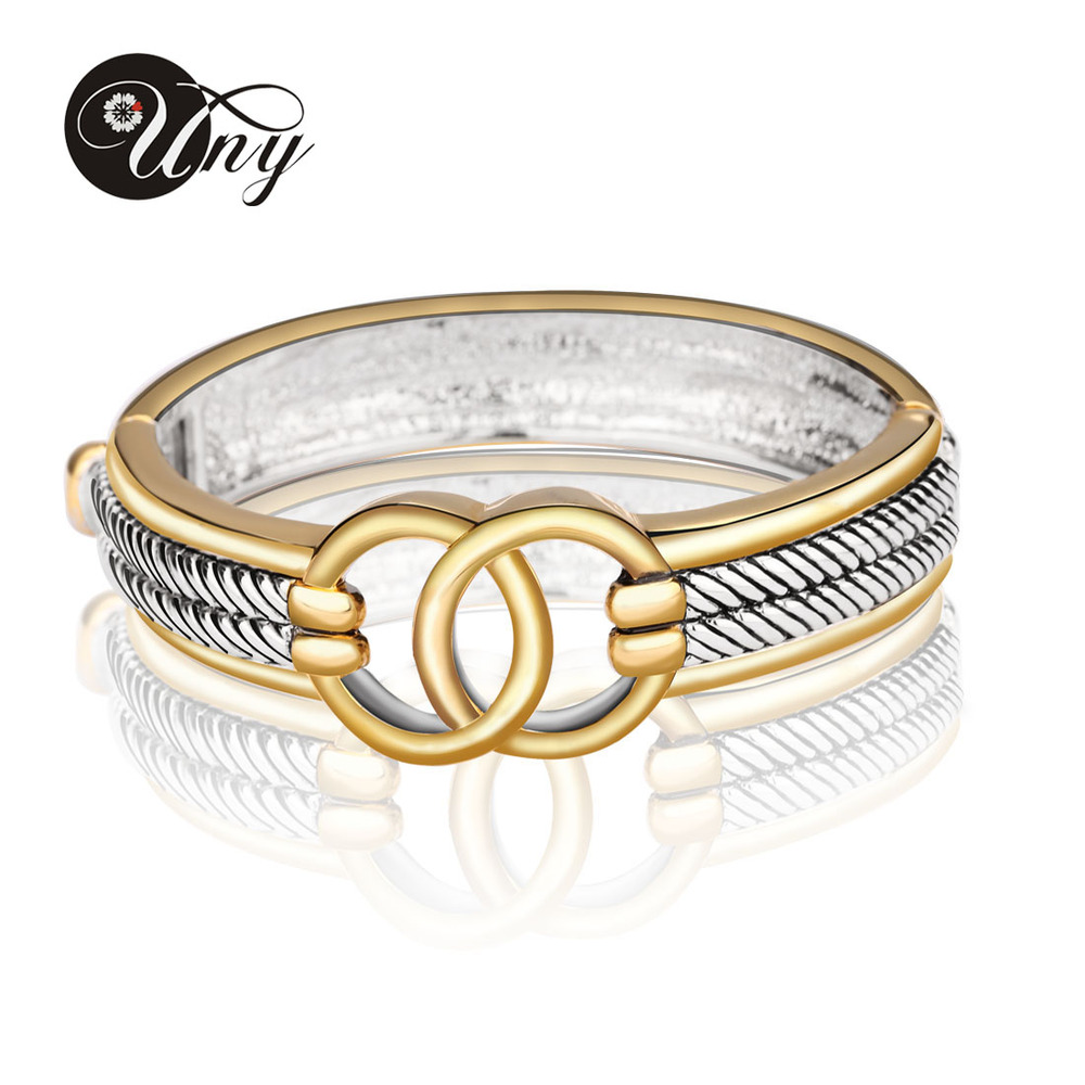 Uny Bangle Antique Twisted Wire Cable Bangles Retro David