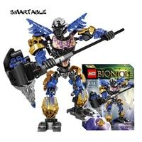 Smartable BIONICLE 143pcs Light Onua Earth Figures 611 2 Building Block Toys Compatible Legoing BIONICLE LEPIN