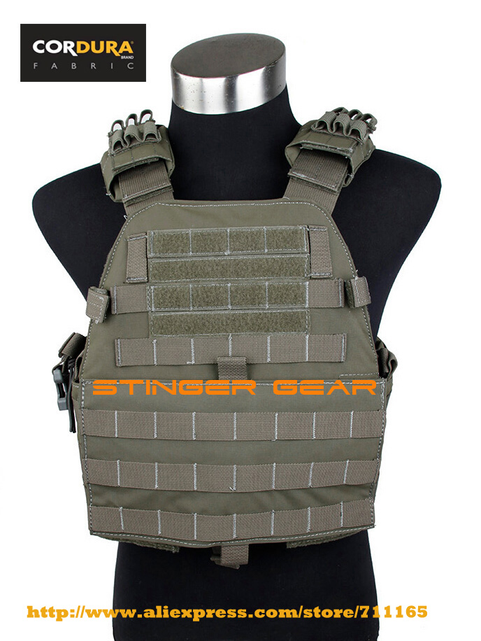 TMC Assault Plate Carrier Vest MOLLE Tactical Vest Plate Carrier Cordura RG+Free shipping(SKU12050453) эргорюкзак boba carrier vail
