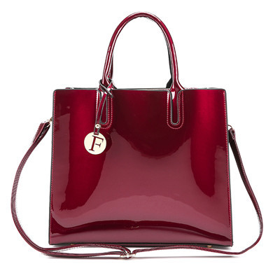Patent Leather Handbags...