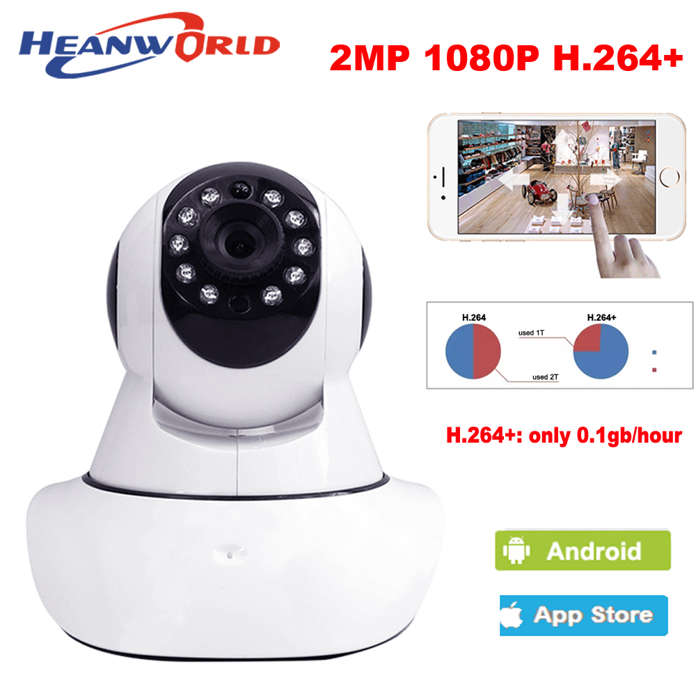 Home Security Indoor Cam Surveillance System IP PTZ Camera Wi-fi 1080P Full HD Wireless Dual Audio P2P Remote Baby Monitor audio hd 1920 1080p wired ip camera 2mp ip cam p2p indoor