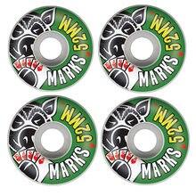Conjunto de 4 unids/set Pro 50 & 52 & 53 & 54 & 55mm, Ruedas de monopatín de color cambiadas para Patines, Rodas de plástico, marca USA