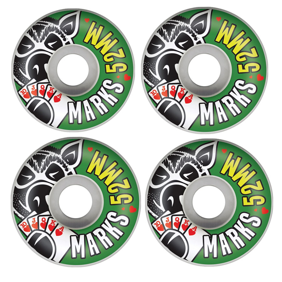 USA BRAND GIRL PIG 4pcs/Set Pro 50&52&53&54&55mm USA color changed Skateboard Wheels for Ruedas Patines Plastic Rodas Skate-in Skate Board from Sports & Entertainment
