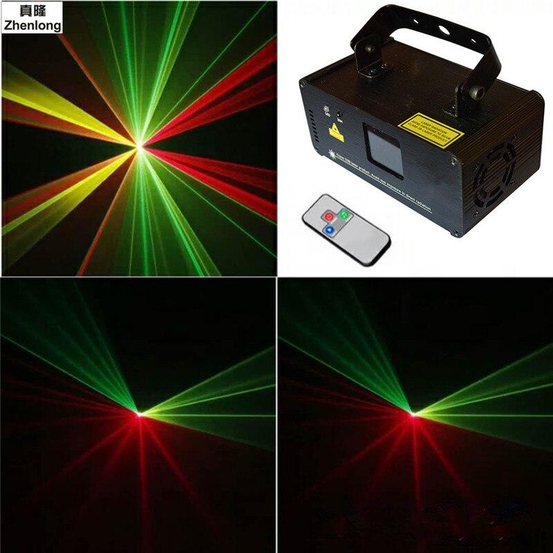 ИК пульт дистанционного 200 МВт rgy лазерного сценического Освещение 8 каналов DMX 512 PRO сканер DJ партии КТВ шоу проектор оборудования красный и з