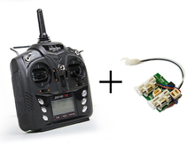Modified Walkera DEVO 7E 2.4G 7CH DSSS Radio Control Transmitter for RC Helicopter Airplane
