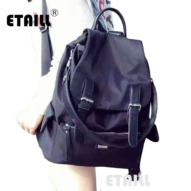 2016 Stylish Brand Fashion Korean Style Casual Nylon Men Backpack School Teenager Brand Backpacks Boys Girls