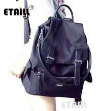 Стильный бренд, Модный корейский стиль, повседневный нейлоновый мужской рюкзак, школьный рюкзак для подростков, брендовые рюкзаки для мальчиков и девочек, Sac a Dos Femme