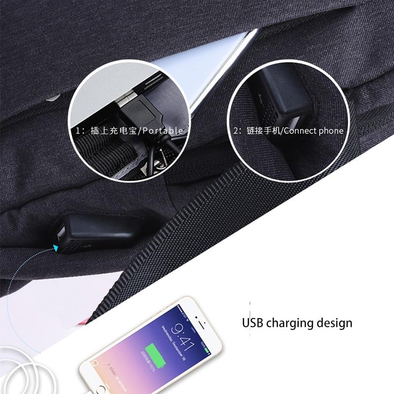 WIWU Crossbody Bags for Men Messenger Chest Bag 7