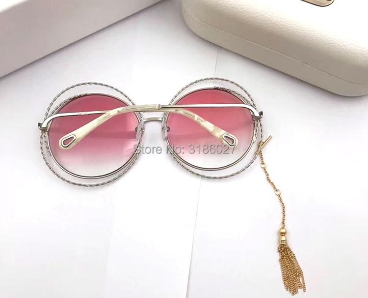 Neue De Oculos Stil Sonnenbrille Runde Ce114s Mode Purple Frauen Beschichtung Marke Sol Retro Weibliche pink Designer orange Größe Gläser Kette Über PXBwTxq7