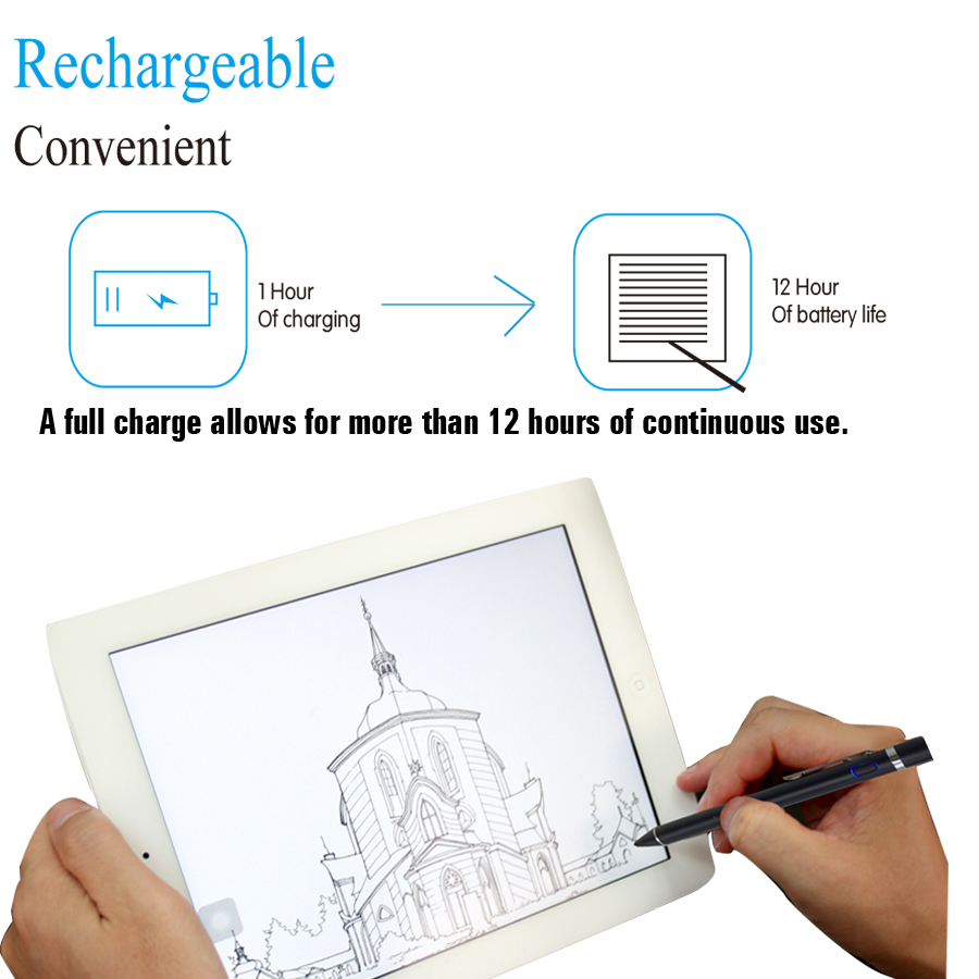 huawei drawing tablet. 1.4mm metal nib tablet pen stylus slim for drawing android ios ipad2 huawei t