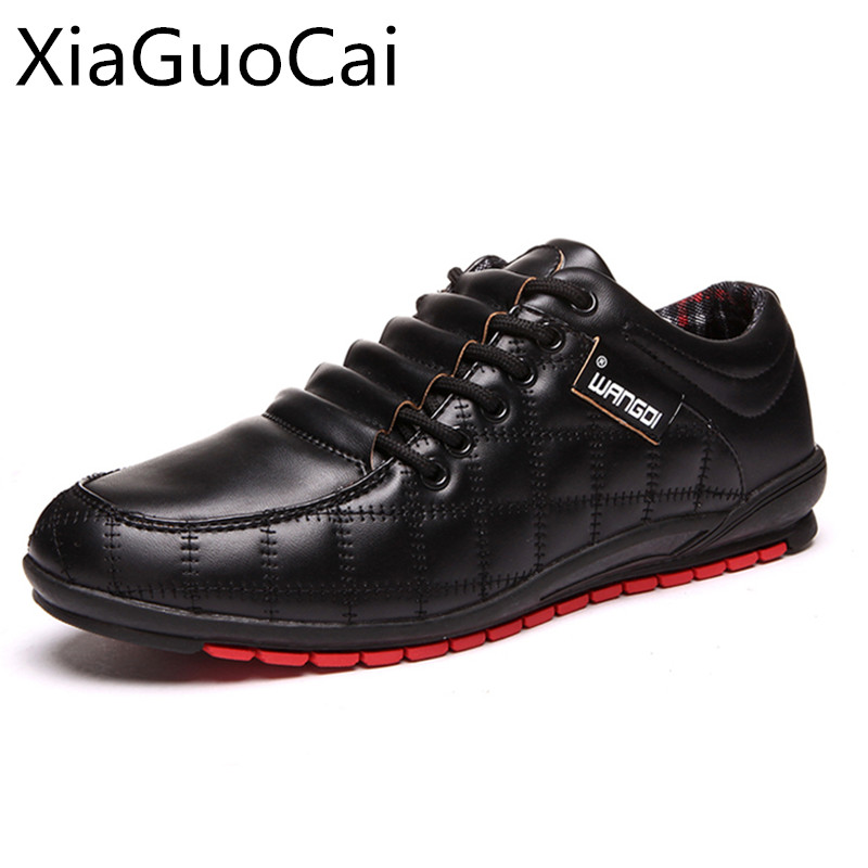Casual-Shoes Checkered Flats Black Super-Warm Cotton Fashion Winter Lace-Up with Breathable