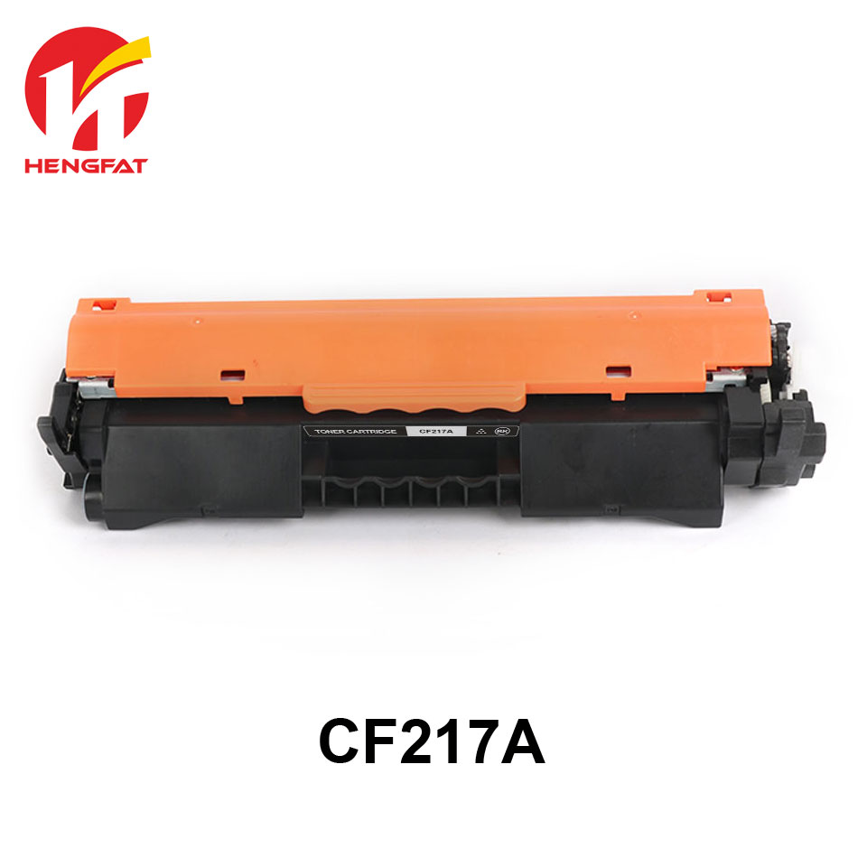 2PCS  CF217A compatible toner cartridge for HP LaserJet Pro M102a M102w MFP M130A M130fn M130fw CF217A 217a (with chip) compatible laser printer reset toner cartridge chip for toshiba 200 with 100% warranty