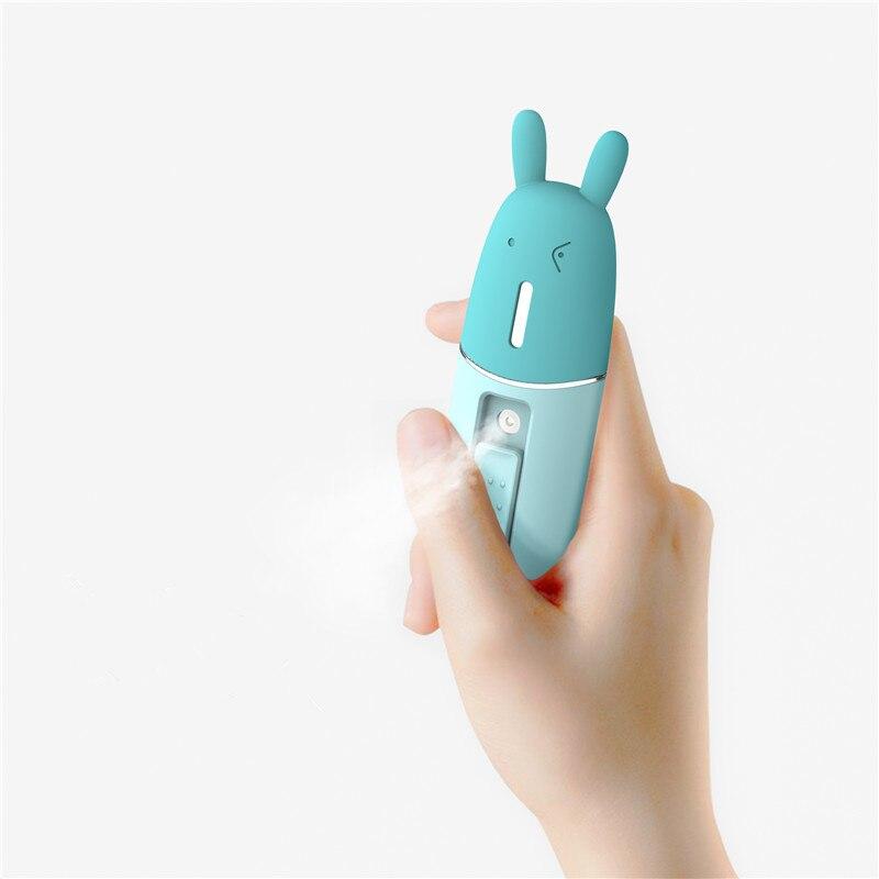 BOMEINENG Portable Facial Humidifier USB Mini Handheld Ultrasonic Humidifier Mist Maker Fogger Diffuser For Face Steam