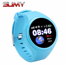 Viscoso Relógios Inteligentes T88 Crianças Relógios Relógio Inteligente Bebê com GPS Chip de Segunda Geração Chamada SOS Localizador com Wi-fi 450 mah