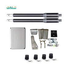 GALO Residential Gate Opener,Electric Swing Gate Operator AC220 input with 4ps remote contrl electric gates electric swing gate opener 300 kg swing gate motor with 5 remote control