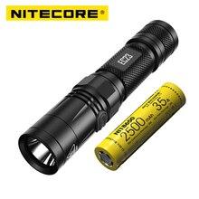 NITECORE EC23 8 modları 1800 lümen CREE XHP35 HD E2 LED el feneri su geçirmez açık kamp yürüyüş taşınabilir meşale ücretsiz kargo