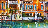 High Quality Poster About Venice Frameless Poster And Paper Oil Painting On Canvas For House Wall