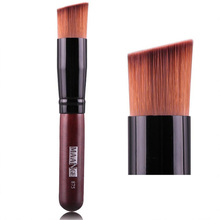 цена на 1Pcs Makeup Brush Liquid Power Foundation Concealer Blush Lady Face Make Up Brush Flat Contour Cosmetic Brush Tool