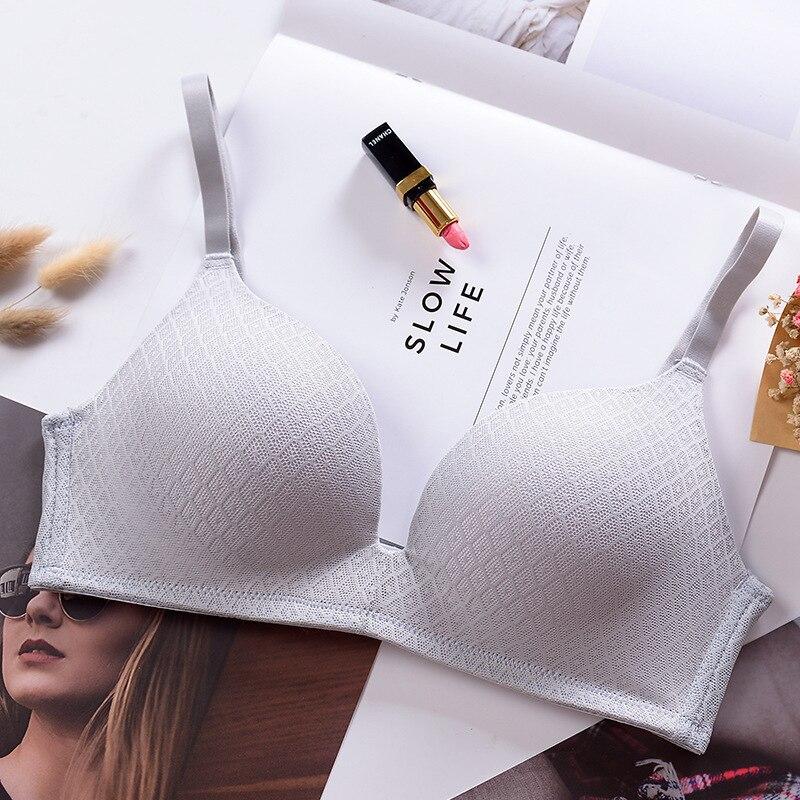 Sexy Seamless Push Up bras For Women Lingerie Breathable Underwear Plunge Sexy Intimates bras Female in Bras from Underwear Sleepwears