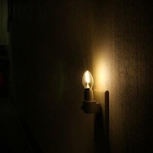 Image 3 - Ganriland C7 Led Dimmable Bulb E14 E12 0.5w Refrigerator Led Filament Light Bulb 2700k 110V 220V Chandelier Pendant Edison Lamps