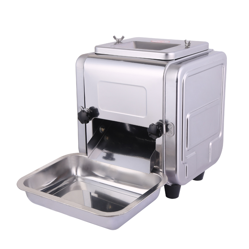 550W commercial stainless steel Electric meat slicer Multifunction Slicer Shred Chetting dicing machine 32b 550w multi function stainless steel meat cutting machine commercial slicer desktop automatic electric dicing machine