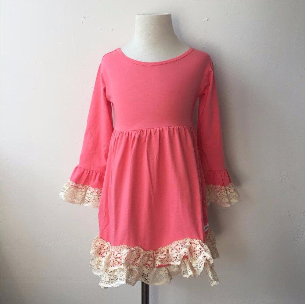 Новая модель девушка платье корейский xxx изображения Длинные рукава крючком кружева торжественные платья фантазии Baby Boutique оптовая продажа ...