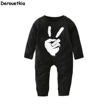 Autumn Newborn Baby Clothes Cotton Long Sleeve Baby Boy Jumpsuit