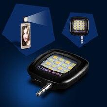 Universal font b android b font led flash light selfie lamp lighting fill flashlight camera night