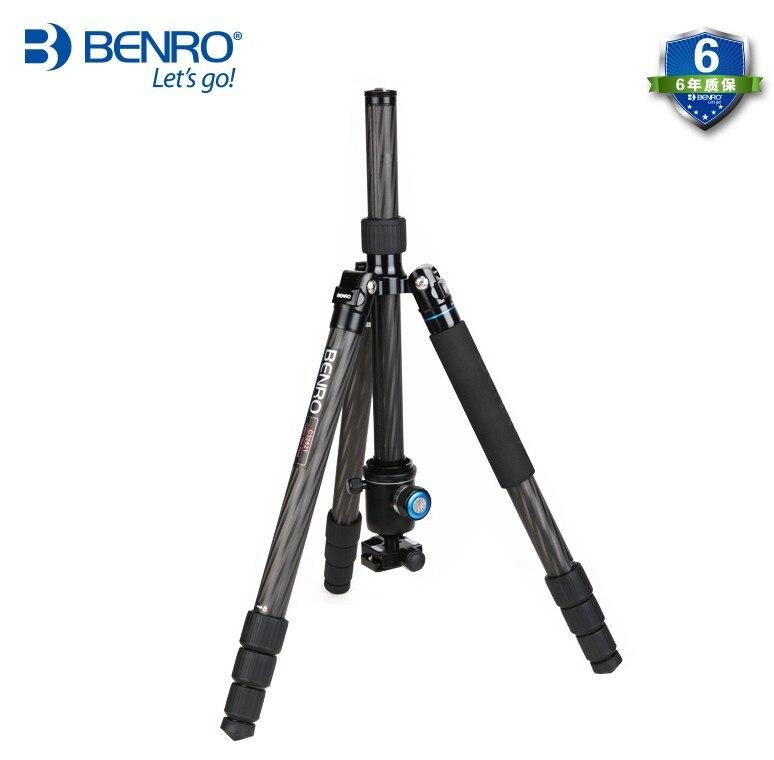 BENRO C3282TV3 trépied en fibre de carbone professionnel trépied appareil photo reflex monopode-in Trépieds from Electronique    2