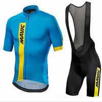 Mavic 2019 Pro Team Radfahren Kleidung/Road Bike Wear Racing Kleidung Quick Dry herren Radfahren Jersey Set Ropa ciclismo maillo