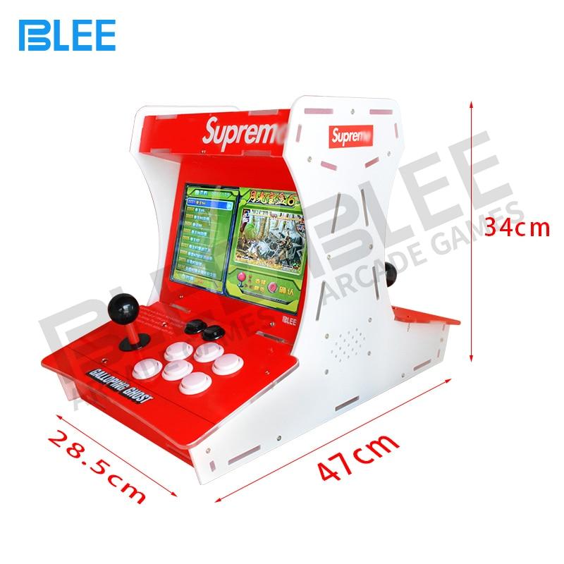 Mini Bartop Supre Galloping Ghost Arcade Game Machine 10 Inch Lcd