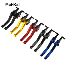 MAIKAI FOR KAWASAKI NINJA 650R/ER-6F/ER-6N 2009-2016 NINJA 400R 2011 Motorcycle Accessories CNC Short Brake Clutch Levers все цены