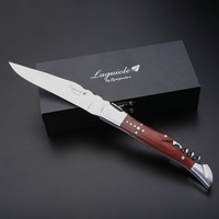 Wood Handle Wine Knife Stainless Steel Corkscrew Wine Opener Wedding Portable Pocket Knives Beer Can Wine Accessories in Giftbox