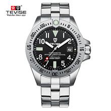 Relogio Tevise Men Watch Waterproof Automatic Mechanical Watches