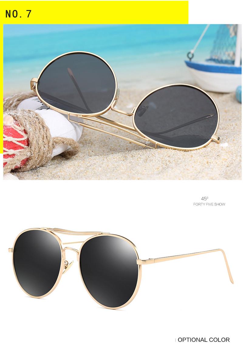 0af573425e9 Kdeam Runde Form Polarisierte Sonnenbrille Frauen Männer Polaroid ...