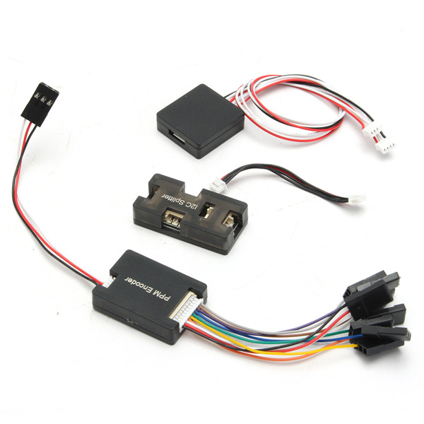 PPM Encoder Module <font><b>LED</b></font> Indicator Module <font><b>I2C</b></font> Splitter Expand Module for Pixhawk RC Helicopter Toys For RC Models
