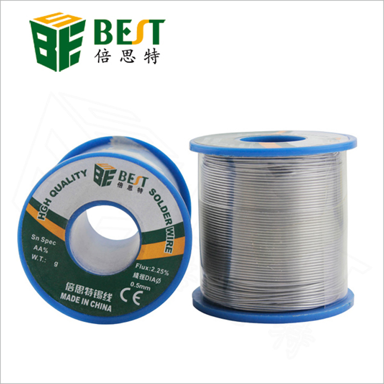 High Quality  0.5mm 0.6mm 0.8mm 1.0mm Tin Lead Solder Tin Wire 500g 60/40 Melt Rosin Core high quality tin solid solder wire reel spool silver 1mm 15m