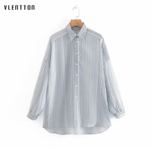 Women Blouses 2019 Long Sleeve Turn Down Collar Striped Office Lady Shirts Chiffon Blouse Shirt Casual Tops Blusas Camisas Mujer women shirts blouses long sleeve turn down collar shirts gradient lady fashion tops