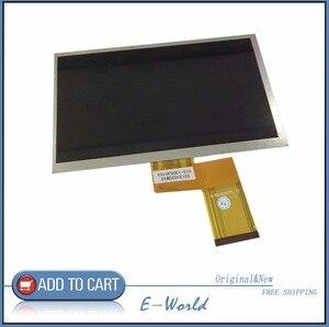 Oryginalny 7 cal 50pin kr070pe7t FPC3-WV70021AV0 ekran LCD wyświetlacz dla Freelander pd10 pd20 Tablet PC darmowa wysyłka