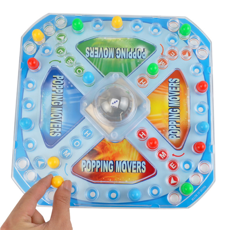 Puzzle Desktop Toys 3D Flying Chess Family Parents Interactive Party Baby Brains For Boys And Girls Gift F4