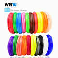 Filamento de pluma 3D PLA/filamento ABS multicolores 100 m/200 m filamento de carretes de plástico 1,75mm DIY impresora 3D impresión 3D filamento
